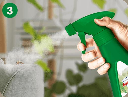 O produto pode ser utilizado em várias superfícies como rodapés, pias, chão ou qualquer outra em que o mosquito estiver