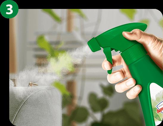 O produto pode ser utilizado em várias superfícies como rodapés, pias, chão ou qualquer outra superfície em que o mosquito estiver