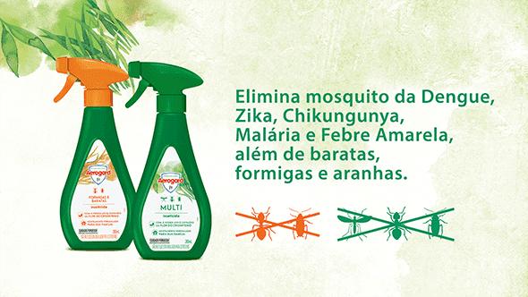 Elimina mosquitos da Dengue, Zika, Chikungunya, Malária e Febre Amarela